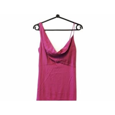 ニコルミラー nicole miller ドレス サイズ0 XS レディース ピンク【中古】20200724
