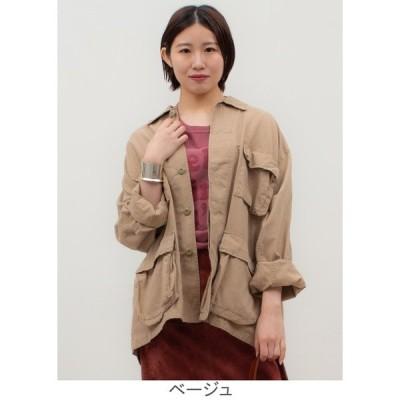 ROTHCO:えり付きミリタリーシャツジャケット THE STORE by C' ザ・ストア バイ シー