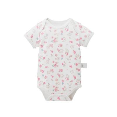 (MIKI HOUSE HOT BISCUITS/ミキハウスホットビスケッツ)ボディシャツ/ ピンク