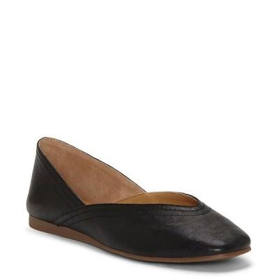 ラッキーブランド レディース サンダル シューズ Alba Leather Flats Black