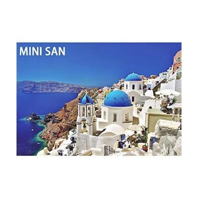Minisan 1000ピース ジグソーパズル エーゲ海 サントリーニ島 ギリシャ パズル マイクロピース mini puzzle (420 x 297mm