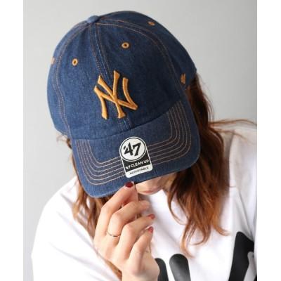FUNALIVE / 【47 brand】】オフィシャルメジャーリーガー 球団ロゴ立体刺繍ベースボールキャップ MEN 帽子 > キャップ