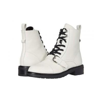 AllSaints レディース 女性用 シューズ 靴 ブーツ レースアップ 編み上げ Donita - White