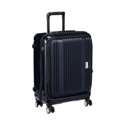[バーマス] スーツケース ジッパー ユーロシティ フロントオープン 4輪 60291 55L 54 cm (ブラック One Size)