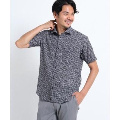 TAKEO KIKUCHI / タケオキクチ 【Sサイズ〜】小花プリント半袖サッカーシャツ