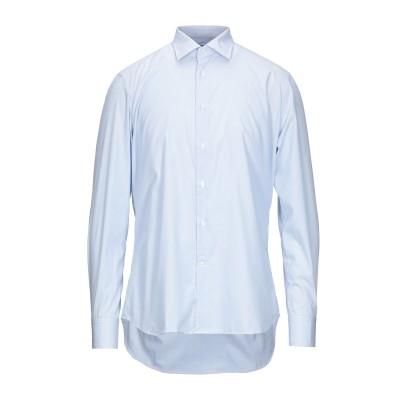 ALESSANDRO BONI シャツ スカイブルー 41 コットン 100% シャツ