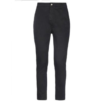 マニラ グレース MANILA GRACE パンツ ブラック 42 コットン 97% / ポリウレタン 3% パンツ