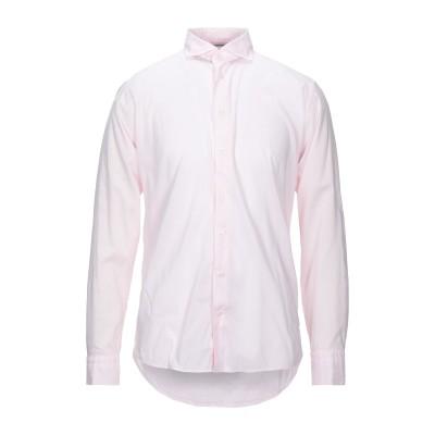 ETON シャツ ピンク 40 コットン 55% / レーヨン 45% シャツ