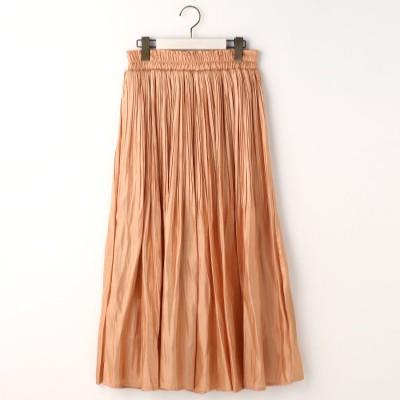 ニコル ホワイト NICOLE white シャイニーサテンスカート (08ピンク)