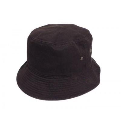 NEW HATTAN / ニューハッタン BUCKET HAT バケットハット BLACK ブラック