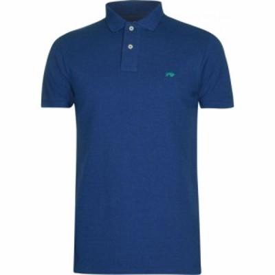 ライジング ブル Raging Bull メンズ ポロシャツ トップス Fly Polo Shirt Denim