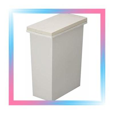 ベージュ20L トンボ 防臭ペール 20L パッキン付き ゴミ箱 タッチ