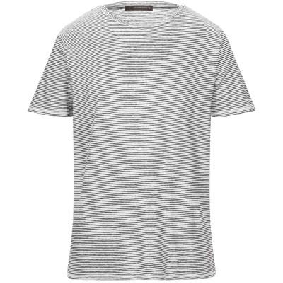 JEORDIE'S T シャツ ブラック XL リネン 100% T シャツ