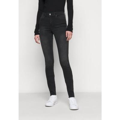 レディース ジーンズ ONLBLUSH LIFE - Jeans Skinny Fit - black denim