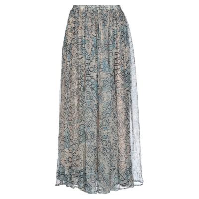 MES DEMOISELLES ロングスカート アイボリー 38 レーヨン 100% ロングスカート