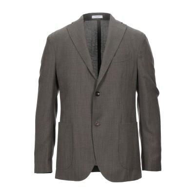 ボリオリ BOGLIOLI テーラードジャケット カーキ 48 ウール 100% テーラードジャケット