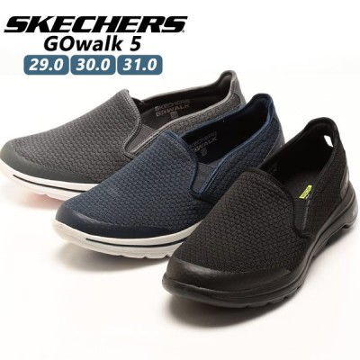 スリッポン 大きいサイズ メンズ ウォッシャブル メッシュ GO Walk 5-Apprize スニーカー 29.0-31.0 SKECHERS