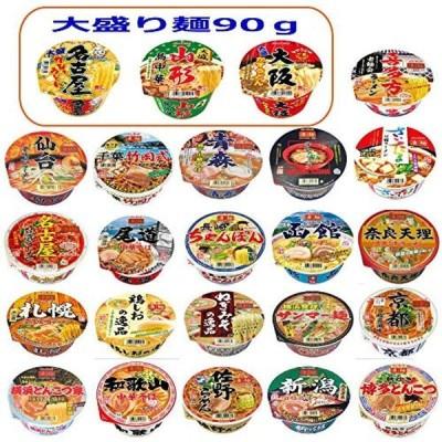 ヤマダイ ノンフライ 凄麺 ニュータッチ大盛24食 ご当地カップ麺セット 3+21