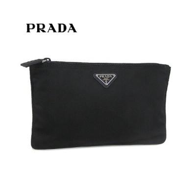 特割プライス/プラダ/PRADA レディース ポーチ VELA 1NB400 067/NERO/ブラック/F0002/セール