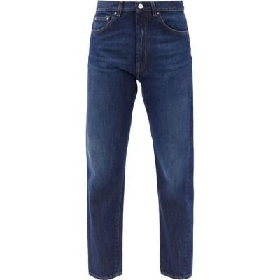 トーテム Toteme レディース ジーンズ・デニム ボトムス・パンツ Original twisted-seam straight-leg jeans Blue