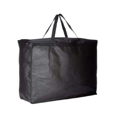 [ボアソルチ] ウエディング ドレスバッグ 不織布 衣装 ドレス 持ち運び バッグ 黒