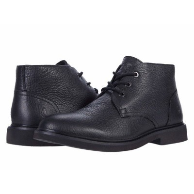 ハッシュパピー ブーツ&レインブーツ シューズ メンズ Detroit Chukka Black Leather