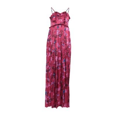 バレンシアガ BALENCIAGA ロングワンピース&ドレス ボルドー 36 シルク 100% ロングワンピース&ドレス