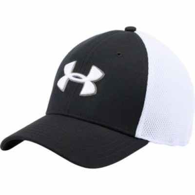 アンダーアーマー ハット Under Armour Mesh Stretch 2.0 Golf Hat Black