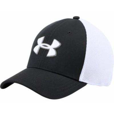 アンダーアーマー ハット Under Armour Mesh Stretch 2.0 Golf Hat Black