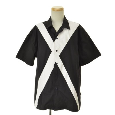 glamb / グラム Cross SHクロスシャツ 半袖シャツ