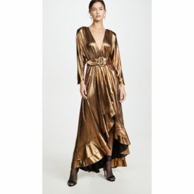 レトロフェット Retrofete レディース ワンピース ワンピース・ドレス Wayne Dress Gold