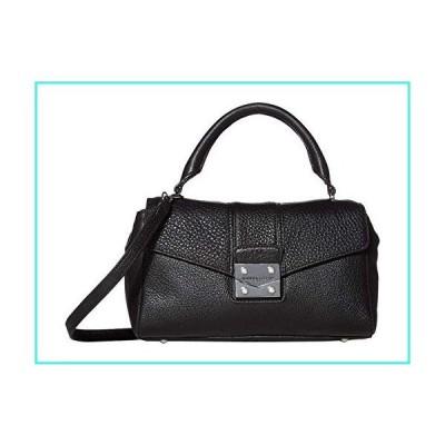 【新品】Karl Lagerfeld Paris Ali Satchel Black/Silver One Size(並行輸入品)