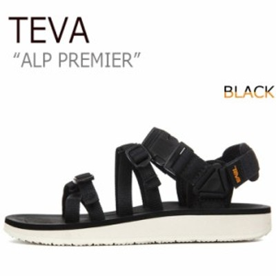 テバ サンダル TEVA レディース ALP PREMIER アルプ プレミア BLACK ブラック 1015182-BLK シューズ