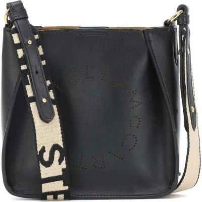 ステラ マッカートニー Stella McCartney レディース ショルダーバッグ バッグ stella logo mini shoulder bag Black