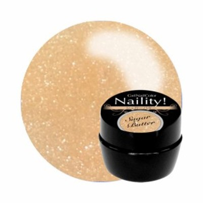 Naility! ジェルネイルカラー 401 シュガーバター 4g 【ネイリティー/naility/ソークオフ/カラージェル/ジェルネイル/ネイル用品】