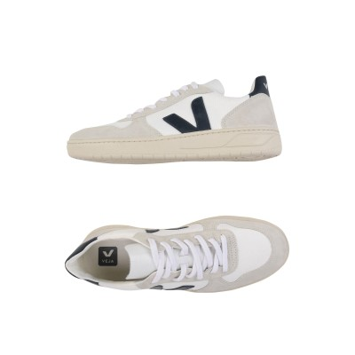 VEJA スニーカー&テニスシューズ(ローカット) ホワイト 44 革 / 紡績繊維 スニーカー&テニスシューズ(ローカット)
