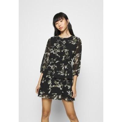 オンリー レディース ワンピース トップス ONLALYSSA DRESS PETITE - Day dress - black black