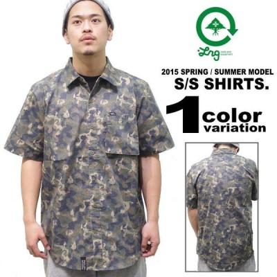 LRG  エルアールジー 半袖シャツ 迷彩 メンズ 大きいサイズ