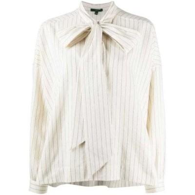 ブラウス シャツ レディースJejia striped print shirtNeutrals ,Grey