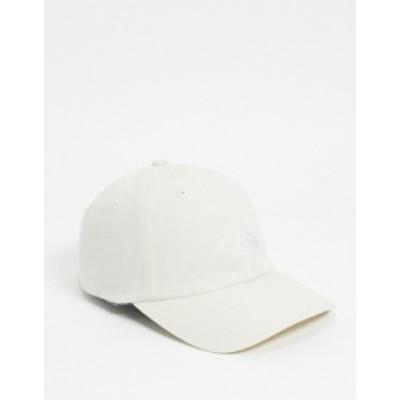 ノースフェイス レディース 帽子 アクセサリー The North Face Norm cap in cream Vintage white