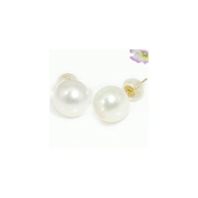 ピアス 18金 パール 真珠 フォーマル あこや本真珠 イエローゴールドk18 スタッド k18 天然石 レディース 宝石 18k 送料無料