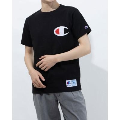 チャンピオン Champion メンズ 半袖Tシャツ SHORT SLEEVE T-SHIRT C3-R304 (ブラック)