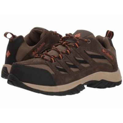 Columbia コロンビア メンズ 男性用 シューズ 靴 ブーツ ハイキング トレッキング Crestwood Camo Brown/Heatwave【送料無料】