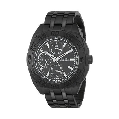 腕時計 ゲス GUESS U0487G2 GUESS Men's U0487G2 Black Ionic Plated Multi-Function Watch