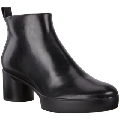 エコー ブーツ&レインブーツ シューズ レディース Shape Sculpted Motion 35 Ankle Boot (Women's) Black Cow Leather