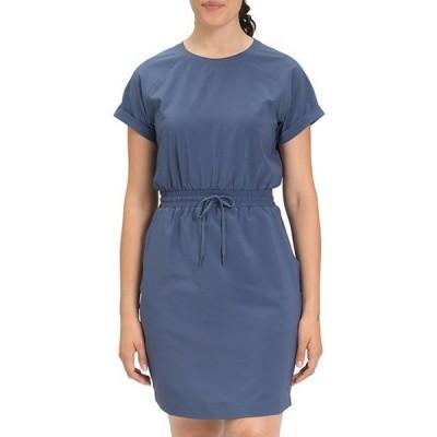 ノースフェイス レディース ワンピース トップス Never Stop Wearing Crew Neck Short Sleeve Dress