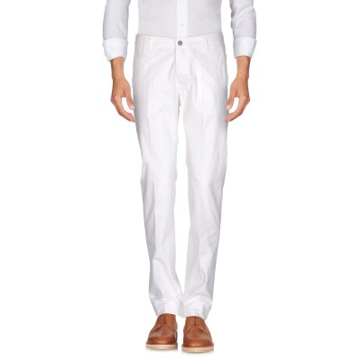 ダニエル アレッサンドリーニ DANIELE ALESSANDRINI パンツ ホワイト 32 コットン 98% / ポリウレタン 2% パンツ
