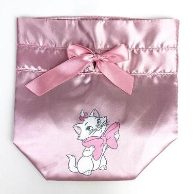 ディズニー マリー ミニ巾着 ディズニー マリー 巾着 小物入れ Disney グッズ ピンク