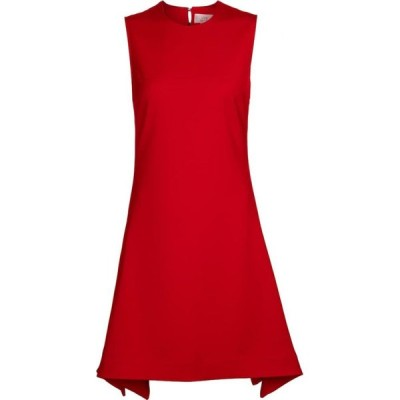 ヴィクトリア ベッカム Victoria Victoria Beckham レディース パーティードレス ワンピース・ドレス Stretch-crepe minidress Postbox Red