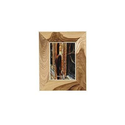 """特別価格Deco 79 79071 Light Brown Wooden Picture Frame with Bone Lining, 10"""" x 8"""", 好評販売中"""